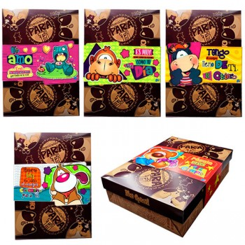 Caja Brown Blue *1