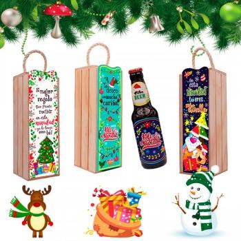 Botella Navidad Tito *1
