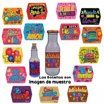Pqte *60 Stickers Pequeños