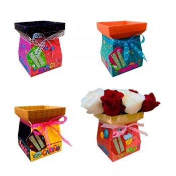 Caja Bouquet Amore *4