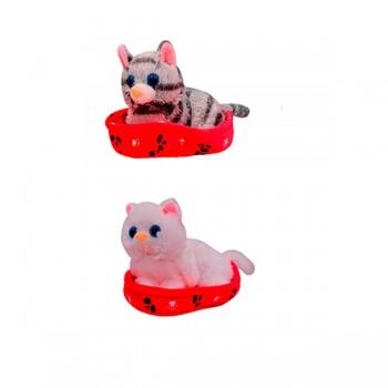 Gatos *1 Camita 13 cm