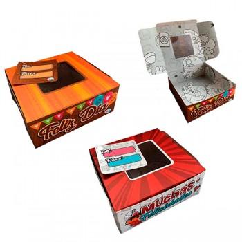 Caja * 4 Cup Cake 6.5x17 cm