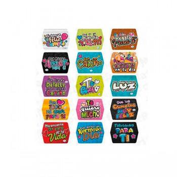 Pqt x 60 Stickers 6 x 6